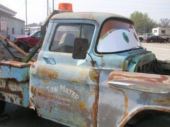 Mater, Truck