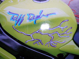 Motorcyle Painting and Pinstriping